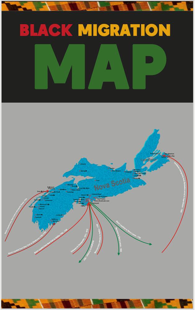 Black-Migration-Map