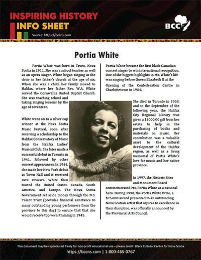Portia-White